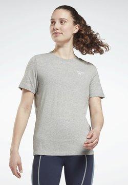 Reebok - IDENTITY - T-shirt basic - grey