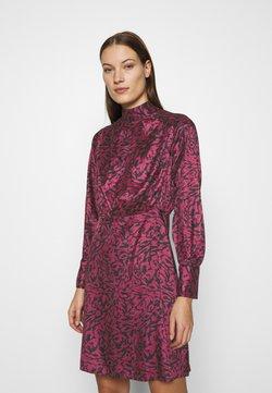 Closet - BOW DRESS - Vestido de cóctel - maroon