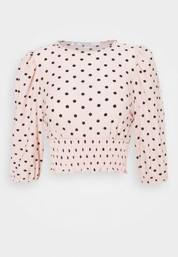 Miss Selfridge Petite - SHIRRED HEM - Bluse - pink