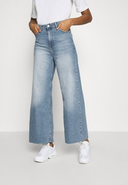 Dr.Denim - AIKO CROPPED - Jeans relaxed fit - empress blue