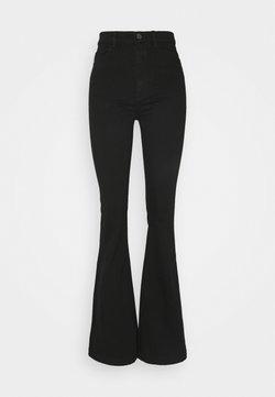DL1961 - RACHEL HIGH RISE - Jeans a zampa - black