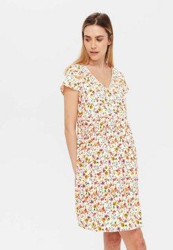 Promod - ROBE - Robe d'été - imprimé écru