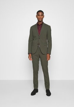 Lindbergh - PLAIN MENS SUIT - Kostuum - army