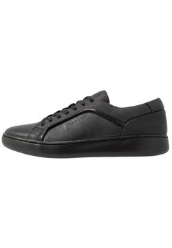 Calvin Klein - FORSTER LOW TOP LACE UP SOFT - Sneakers laag - black
