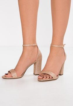 Madden Girl - BEELLA - High heeled sandals - rose gold/multicolor