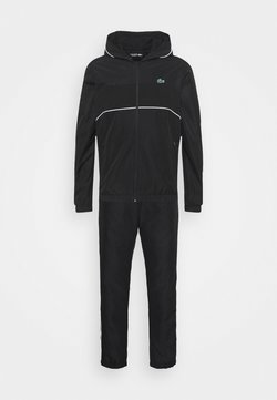 Lacoste Sport - TRACK SUIT SET - Trainingsanzug - black/white