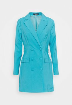 Missguided - BELT BLAZER DRESS - Cocktailkleid/festliches Kleid - teal