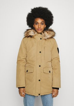Superdry - EVEREST - Wintermantel - sand