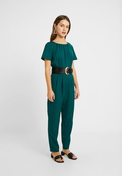Dorothy Perkins Petite - BELTED JUMPSUIT - Combinaison - forest green