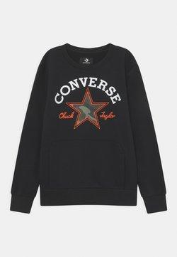Converse - UTILITY CREW - Collegepaita - black