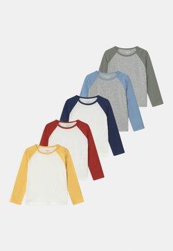 Staccato - RAGLAN 5 PACK UNISEX - Longsleeve - multi-coloured