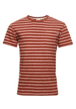 Superdry - OFF PISTE BOX - T-Shirt print - sierra orange marl