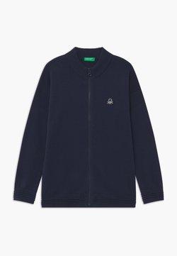 Benetton - BASIC BOY - Strickjacke - dark blue