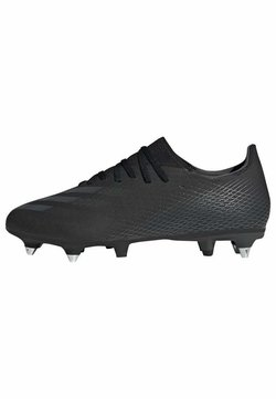 adidas Performance - X GHOSTED.3 SOFT GROUND - Moulded stud football boots - black