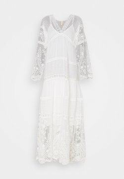 YAS - YASBIRINA DRESS - Maxikleid - pearled ivory