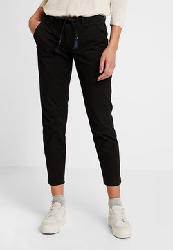 ONLY - ONLEVELYN ANKLE PANT  - Chinot - black