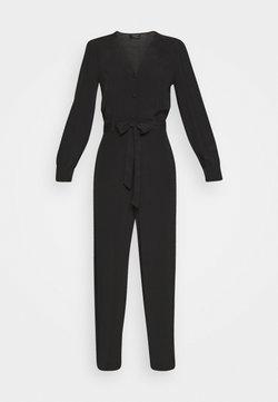 Selected Femme - SLFRIYANKA BELTED - Combinaison - black