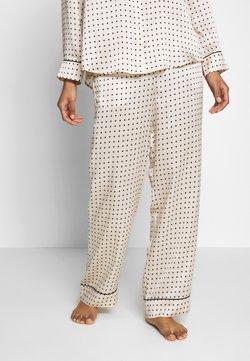 ASCENO - THE LONDON BOTTOM - Pyjama bottoms - cream