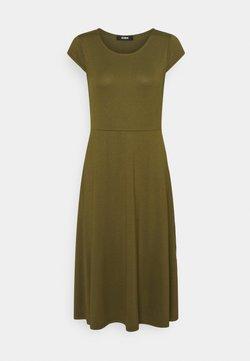 Zign - Jerseyklänning - dark green