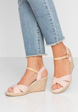 Anna Field - Sandaletter med kilklack - rose