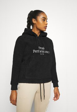Peak Performance - ORIGINAL PILE HOOD - Luvtröja - black