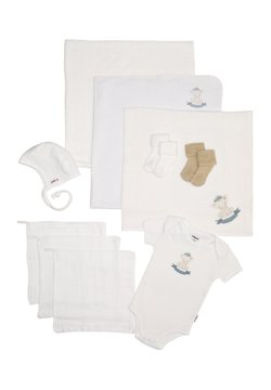 Liliput - SET - Geschenk zur Geburt - weiß