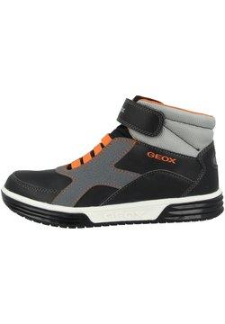 Geox - ARGONAT - Sneaker high - black-orange