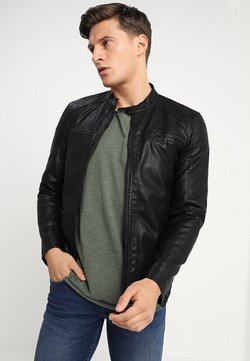 Only & Sons - ONSAL  - Kunstlederjacke - black