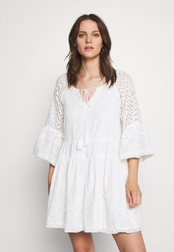 By Malina - FLEUR DRESS - Korte jurk - white