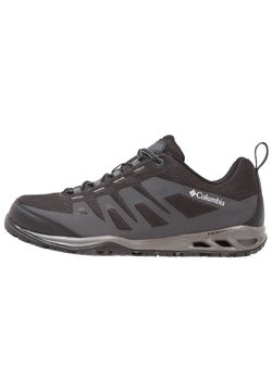 Columbia - VAPOR VENT - Hiking shoes - black/white