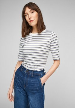 s.Oliver - T-Shirt print - lilac stripes