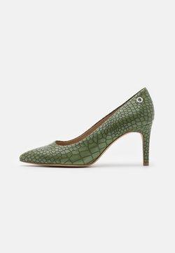 s.Oliver - Klassiske pumps - green