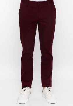 Basics and More - Chino - bordeaux
