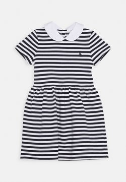 Polo Ralph Lauren - STRIPE DRESS - Freizeitkleid - navy/white