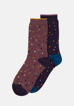 Thought - EMME SOCKS 2 PACK - Socken - blue/royal/purple