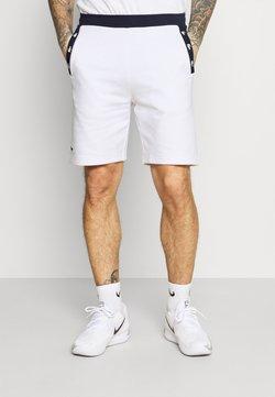 Lacoste Sport - SHORT - Short de sport - white/navy blue