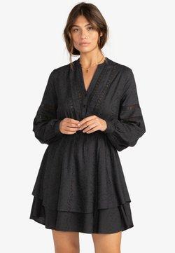 Billabong - SONG - Robe chemise - off black