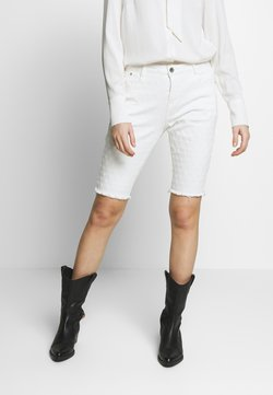 Cream - ROBINA BAIILY FIT - Jeansshort - chalk