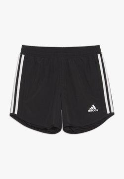 adidas Performance - Krótkie spodenki sportowe - black/white