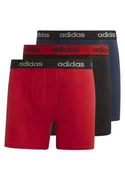 adidas Performance - BRIEFS 3 PAIRS - Underkläder - red