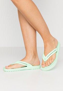 Crocs - CROCBAND - Bade-Zehentrenner - neo mint