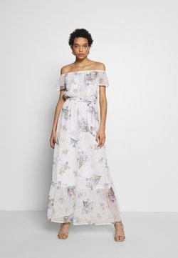 Dorothy Perkins - PRINT DRESS - Długa sukienka - ivory