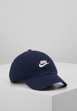 Nike Sportswear - FUTURA WASHED - Caps - obsidian/obsidian/white
