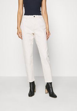 Esprit - MODERN TAPE - Straight leg -farkut - off-white