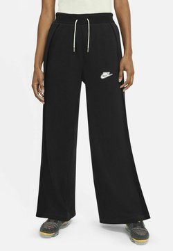 Nike Sportswear - PANT EARTH - Jogginghose - black/black/white