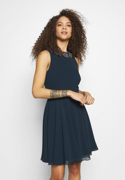 Lace & Beads Petite - AMANDA DRESS - Cocktailkleid/festliches Kleid - navy