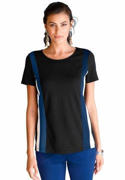 Amy Vermont - T-Shirt print - schwarz,weiß,royalblau