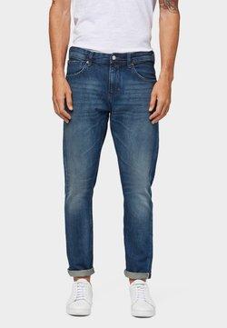 TOM TAILOR DENIM - Jeans Slim Fit - used dark stone blue denim