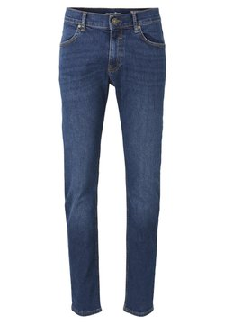 TOM TAILOR DENIM - Jeans Slim Fit - tinted blue denim