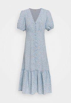 Miss Selfridge - FLORAL DRESS - Freizeitkleid - blue